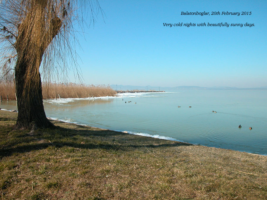 Lake Balaton 20th February 2015