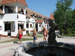 Ketaur Puszta holiday village reception