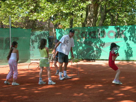 Tennis tuition and coaching