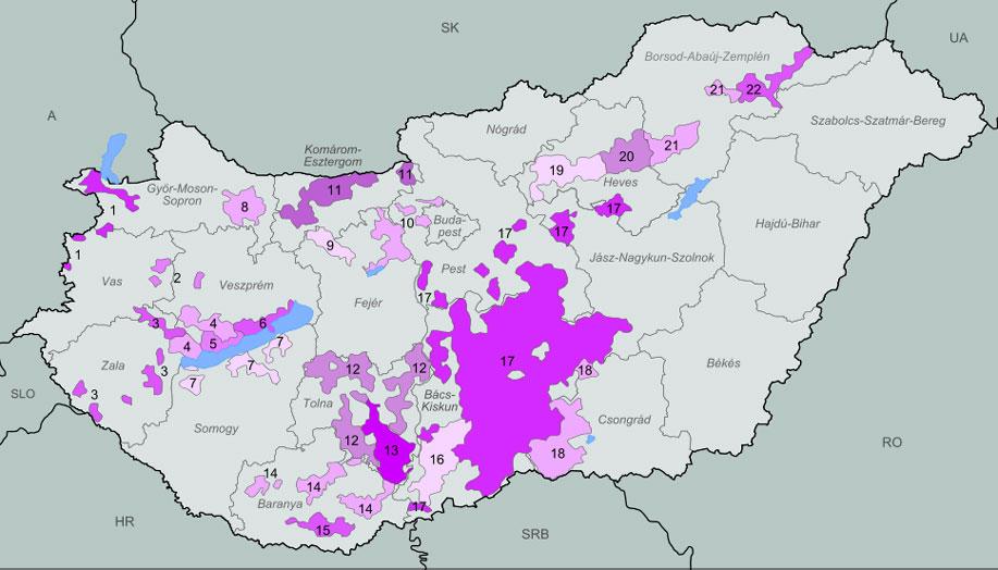 Wine From The Balaton Wine Region